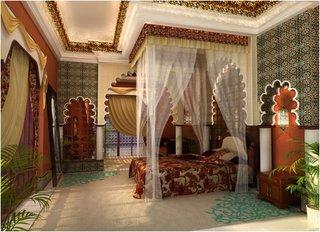 Dormitor exotic marocan
