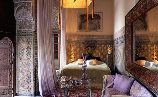 Dormitor traditional marocan