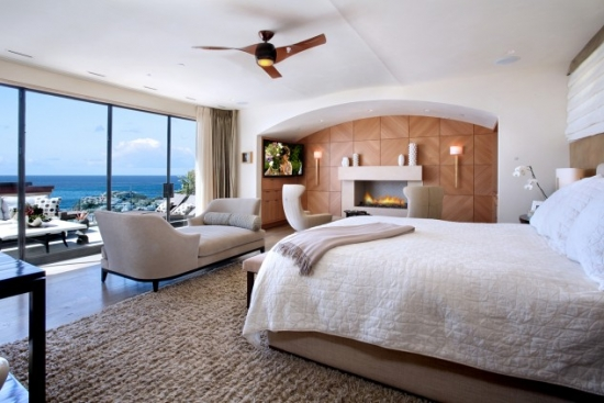 Dormitor de lux cu semineu