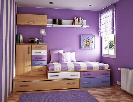 Pat de dormitor cu sertare sub