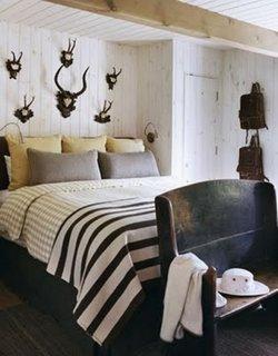 Dormitor cu tema vanatoreasca