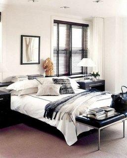 Exemplu de amenajare a unui dormitor mic