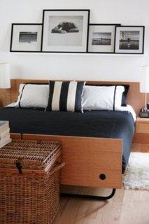 Varianta de amenajare a unui dormitor cu tema marinareasca