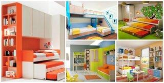Modele dormitoare pentru 2 copii