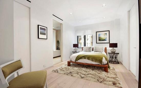 Design scandinav pentru amenajarea unui dormitor