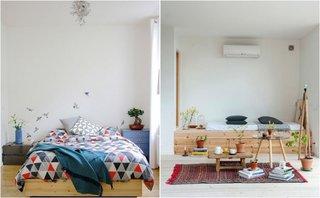 Dormitoare in stil nordic minimalist