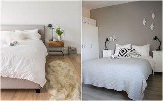 Idee pentru amenajarea dormitoarelor simple cu culori neutre