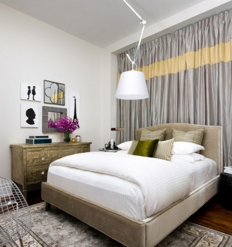 Draperii dense dormitor