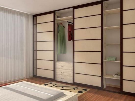 Dulap dormitor cu usi glisante