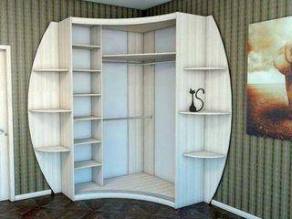 Dulap de colt pentru dormitor
