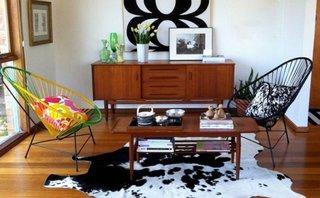 Stil retro combinat cu decoratiuni mexicane