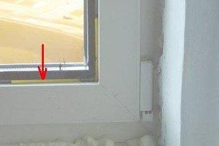 Pana de plastic pentru tamplarie PVC