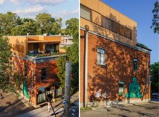Casa din caramida extinsa pe verticala