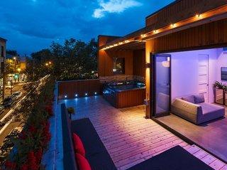 Sistem de iluminat pentru terase