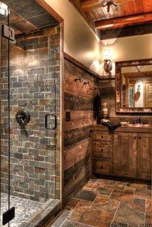 Gresie si faianta care imita lemnul pentru baie