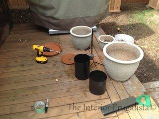 Materiale necesare pentru constructie fantana de gradina