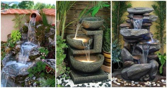 16 idei spectaculoase de cascade artificiale pentru gradina - Meriti sa ai si tu acasa un mic colt de rai !