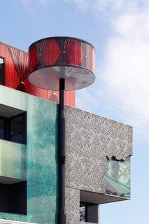 Element arhitectural lampadar pentru iluminat stradal