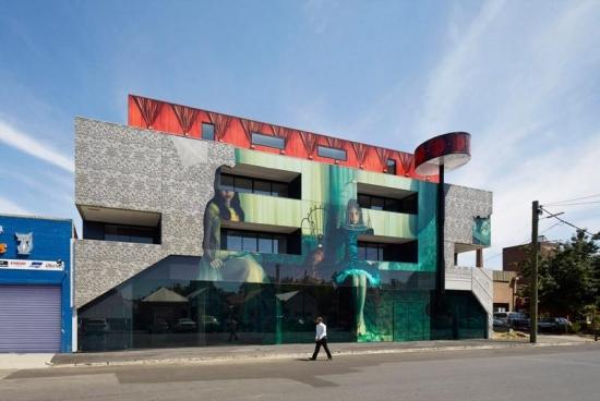 Proiect de bloc cu apartamente