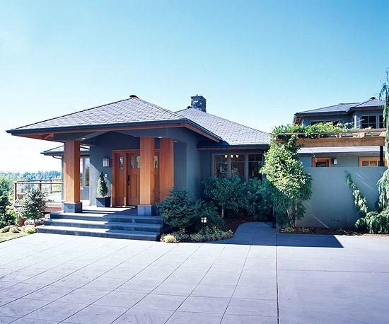 Combinatie cromatica pentru exteriorul casei