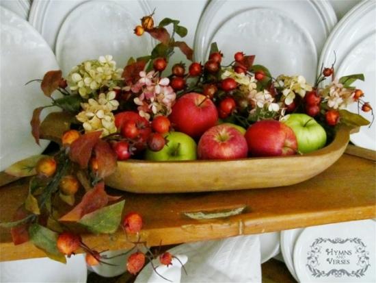 Un bol cu fructe creaza o atmosfera feng shui linistita in casa