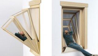 More Sky concept de fereastra culisante ce devine balcon