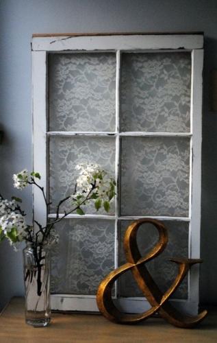 Fereastra falsa cu sticla element decor modern