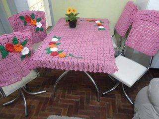 Set crosetat pentru masa si scaune