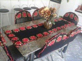Set decorativ crosetat pentru dining