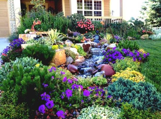 Tipuri de flori pentru gradini cu umbra