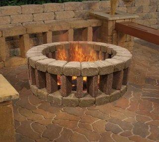 Cum construiesti un foc de tabara cu pereti din caramida refractara