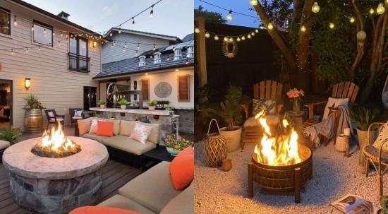 35 de Idei Pentru Construirea Unui Foc De Tabara Decorativ In Gradina