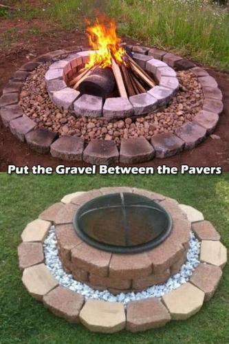 cum sa faci un foc de tabara decorativ rapid