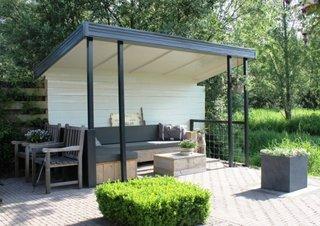 Pavilion mic din fier