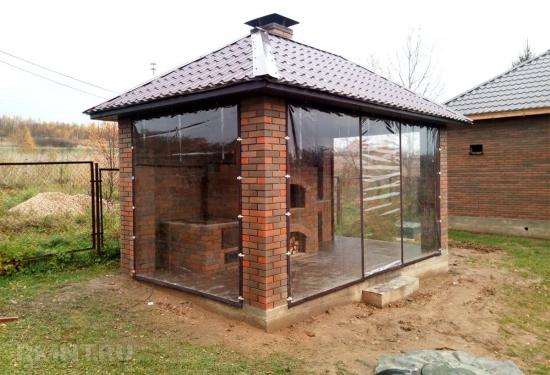 Inchidere terasa cu folie transparenta