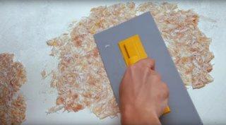 Aplicare tapet lichid pereti