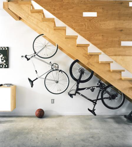 Loc ingenios pentru depozitarea bicicletelor