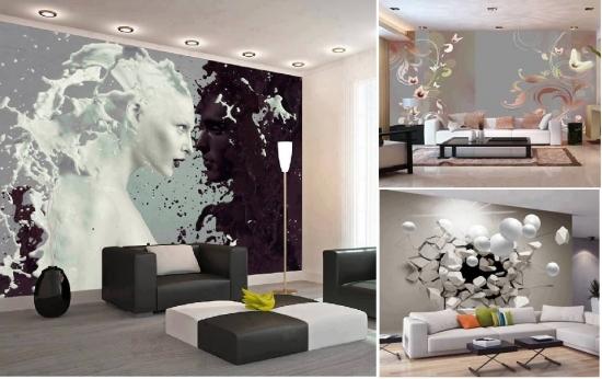 Fototapet decorativ pentru pereti cu perspectiva
