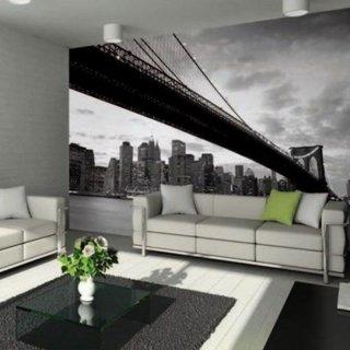 Interior in nuante de gri cu accente de verde