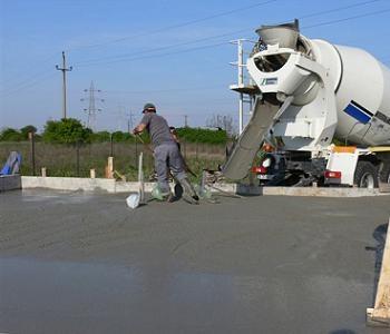 Turnarea placii de beton cu cifa