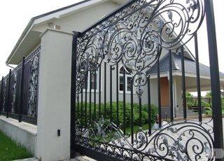 Gard cu 2 bucle si bordura