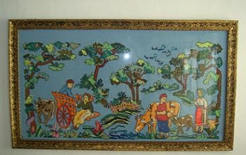 Goblenurile, decoratiuni handmade pentru un decor in stil rustic - modele