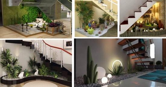 20 de poze cu gradini mici amenajate in interiorul casei din care sa va inspirati