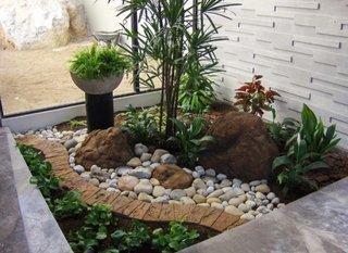 Peisaj tropical in interior casa