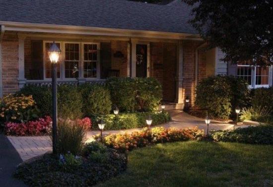 Idee pentru iluminare alei gradina
