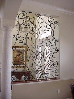 Grilaj decorativ interior