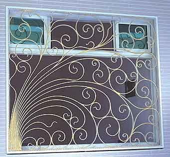 Grilaj elegant fereastra
