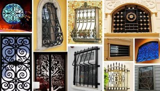 Grilaje interesante ferestre
