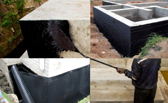 Cum se hidroizoleaza fundatia unei case fara subsol