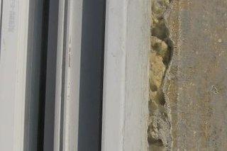 Finisajul la imbinarea zidului cu tamplaria PVC